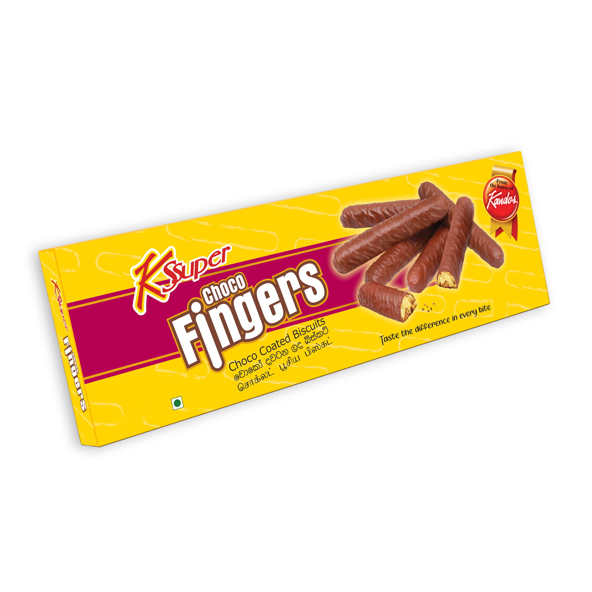Choco Fingers - Medium K Super