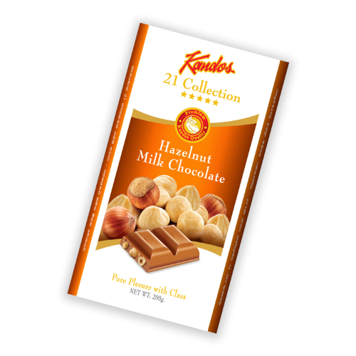 Hazelnut Milk Chocolate 200g