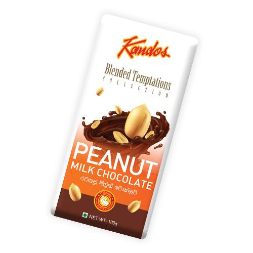 Peanut Milk Chocolate 100g Blended Temptation