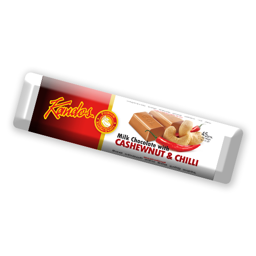 Bar Cashew With Chilli 45g Bar