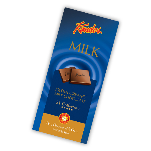 Extra Creamy Milk Chocolate 100g 21 Collection Five Star - Extra Range