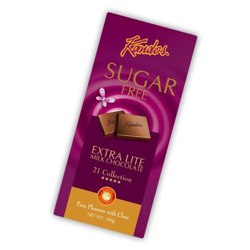 Sugar Free Extra Lite Milk Chocolate 100g Sugar free Chocolates