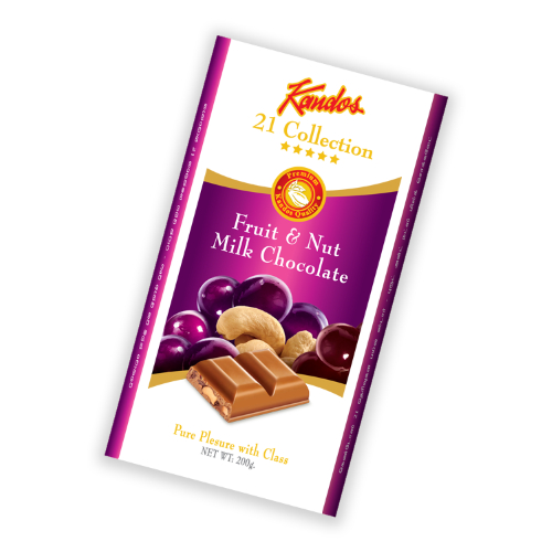 Fruit & Nut Milk Chocolate 200g