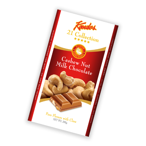 Cashew Nut Milk Chocolate 200g