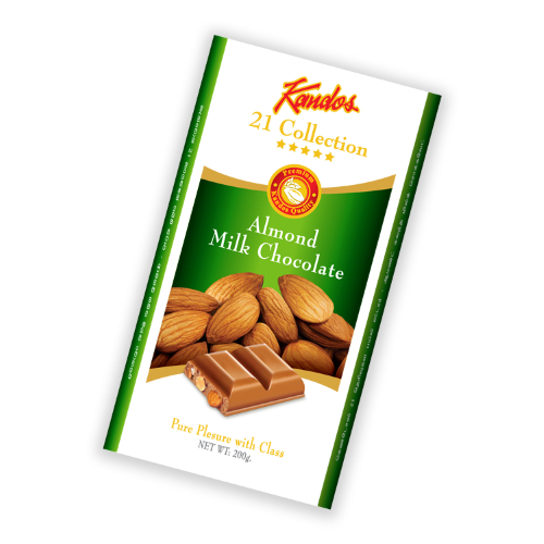 Almond MilK Chocolate 200g