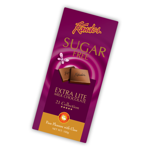 Sugar Free Extra Lite Milk Chocolate 100g